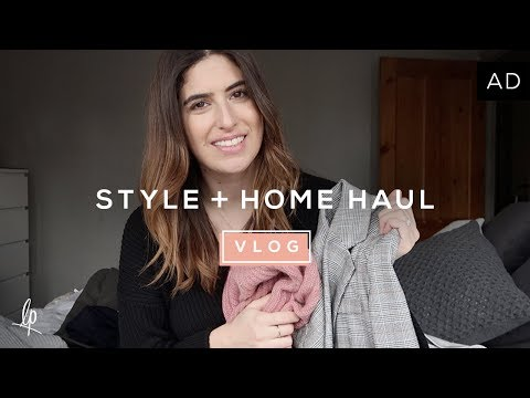 STYLE & HOME HAUL | Lily Pebbles Vlog