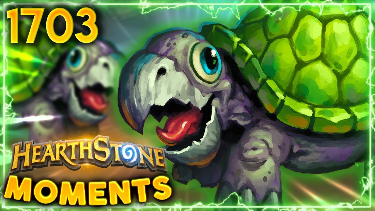 TRAMPLING RHINO Wants To HIT EVERYONE'S Face!   Hearthstone Daily Moments Ep.1703