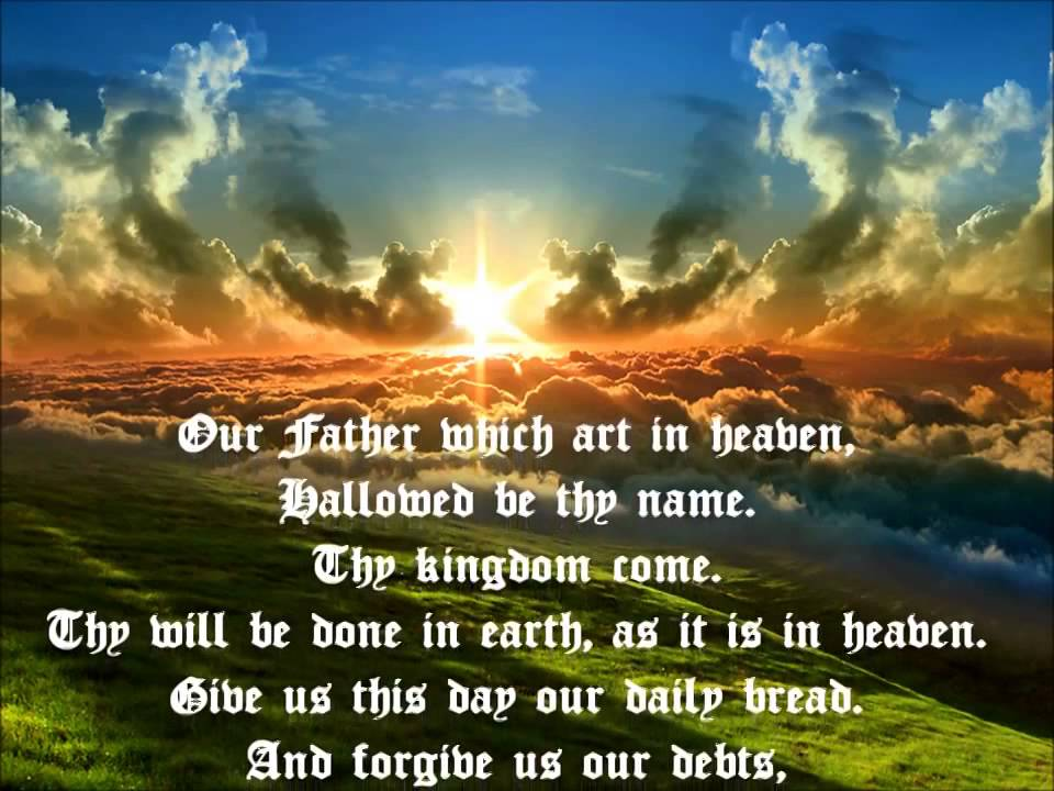 The Lords Prayer from the King James Bible, Dramatized - YouTube