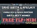 David Guetta Afrojack Ft Charli XCX Dirty Sexy Money FL Studio Remake FREE FLP MIDI mp3