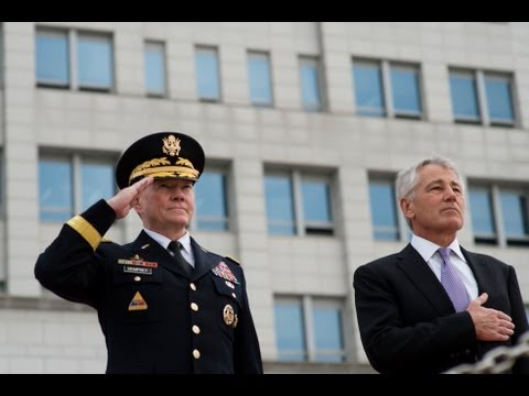 Secretary Hagel and Gen. Dempsey visit South Korea
