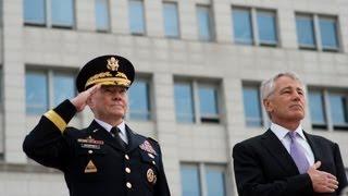 secretary hagel and gen dempsey visit south korea