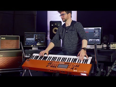 VOX Continental Stagekeyboard - Live Performance + Sound Demos