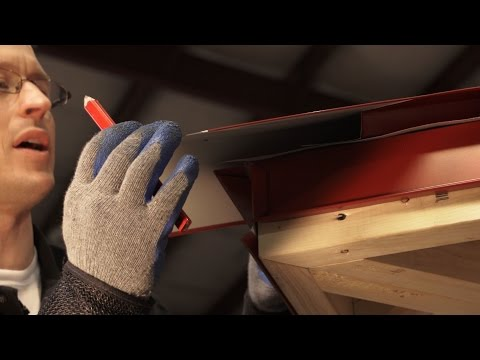How to Install Hip Cap: ABC SL-16® Metal Roofing System