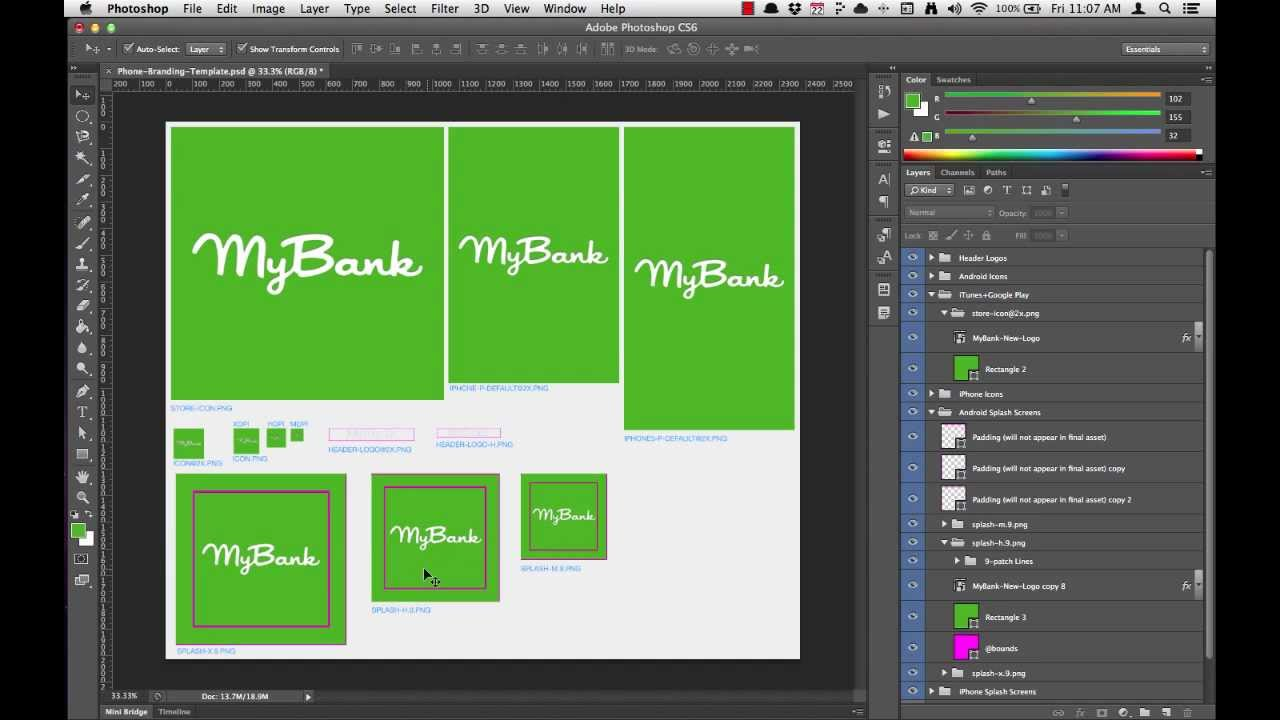 mBanking 3 0 Branding (4 of 5): Working with 9-patch Splash Screens