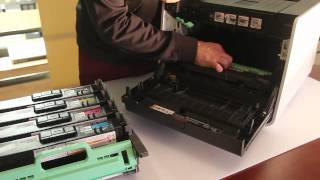 How to Replace Belt Unit BU300CL in Brother Printers HL4570CDW and Similar models