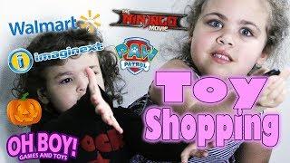 Walmart Toy Shopping For Lego Ninjago Movie Sets, Halloween Decorations
