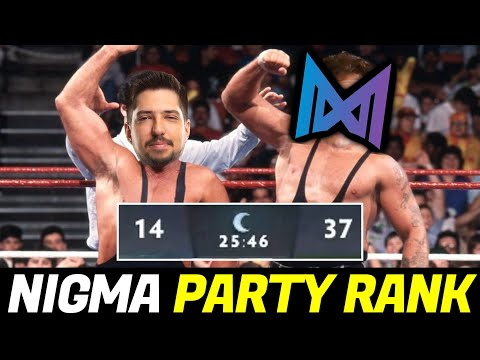 when W33 Party Rank with NIGMA Smurf — Totally Unstoppable