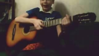 Урок игры на гитаре Ария ,,Потерянный рай,,