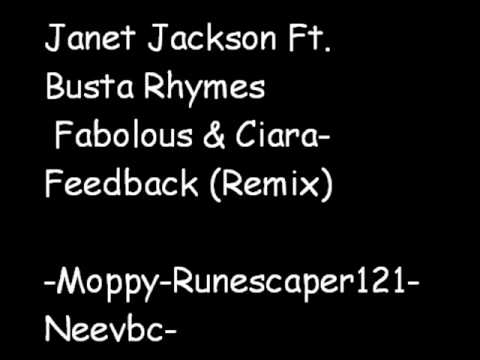 Janet Jackson Ft  Busta Rhymes , Fabolous & Ciara-Feedback