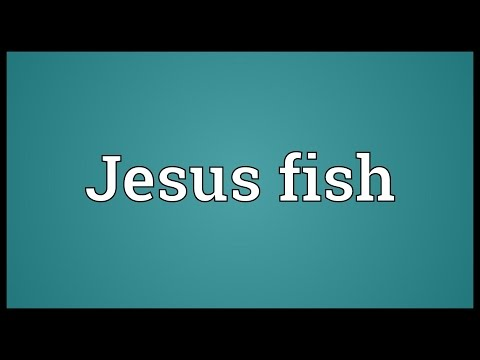 Jesus Fish Meaning