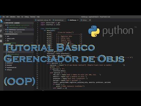 Tutorial Python 3  - Gerenciador de Objetos em OOP thumbnail