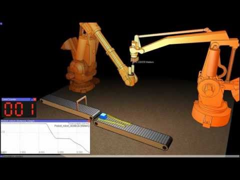 Robot Simulator: V-REP Demo Video December 2011