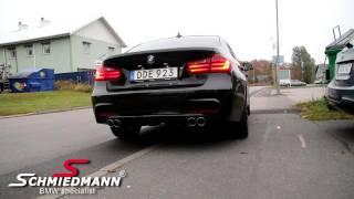 BMW F30 320d - Supersprint sound