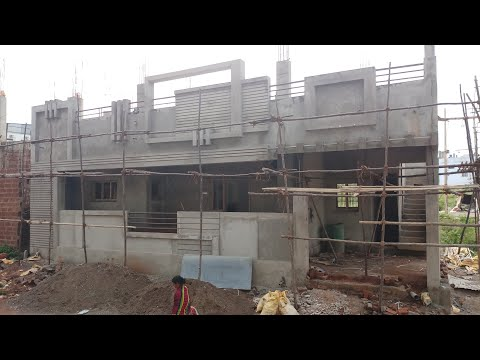 40 × 30 east face house walkthrough and design