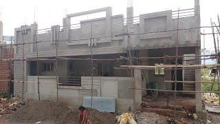 40 × 30 east face house walkthrough and design