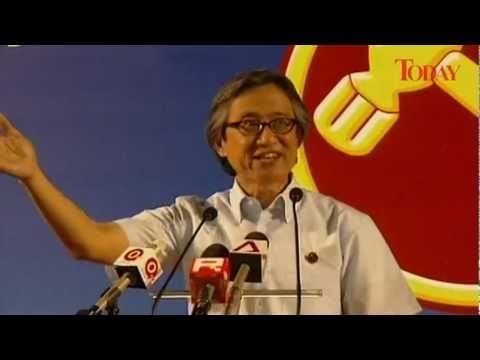 Hougang By-Election 2012: WP Rally, May 22 - Chen Show Mao, MP.