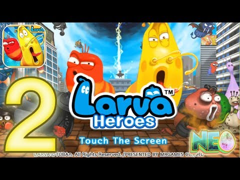 larva-heroes-lavengers:-gameplay-walkthrough-part-2---episode-1-5---1-7-completed-(ios,-android)