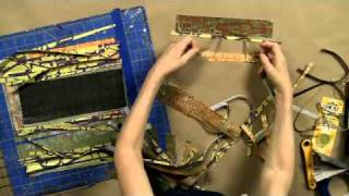 Repeat youtube video Tutorial: Cutting Paper Stripes for Collage with Anne Bagby