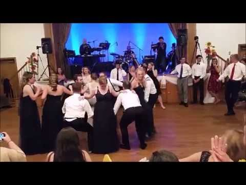 Lanya and Yurij's wedding - Ukrainian Folk Dancing