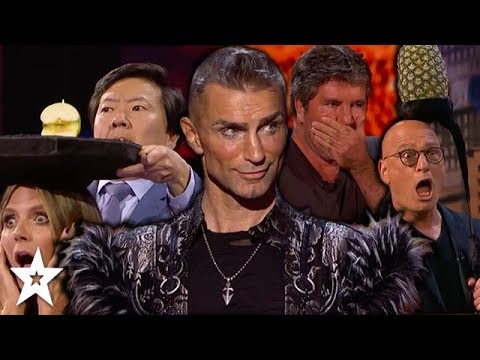 MOST DANGEROUS AUDITIONS on Americas Got Talent 2018 | Got Talent Global