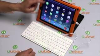 iPad Wired Keyboard Apple MFi Certified Lightning 8-pin and 30-pin