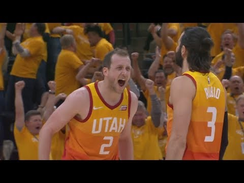 Rubio Triple Double! Jazz 2-1 Westbrook 8 Turnovers! 2018 NBA Playoffs