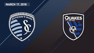 Video Gol Pertandingan Sporting Kansas City vs San Jose Earthquakes