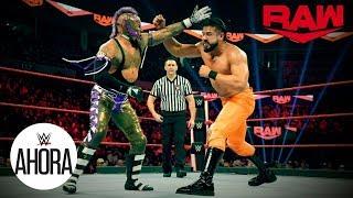 ¡Latinos y escaleras esta noche en Raw!: WWE Ahora, Jan 20, 2020