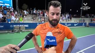 Matteo Viola gana en tres sets a Andy Murray y se mete en cuartos de final Video
