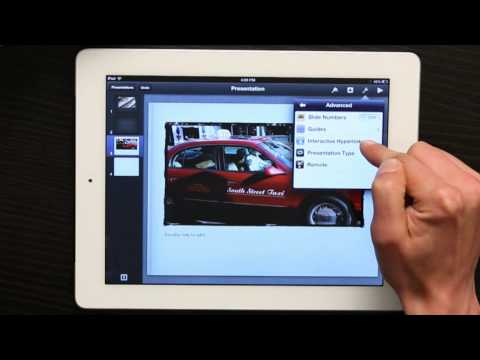How to Create a Hyperlink in Keynote for the iPad : Tech Yeah!