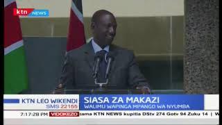 Naibu Rais William Ruto ametetea mpango wa serikali wa kufanikisha ujenzi wa makazi