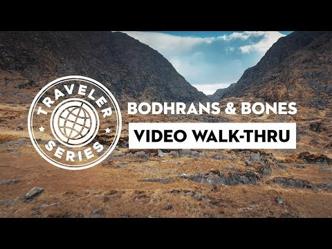 "WALK-THRU for ""Traveler Series Bodhrans & Bones"""