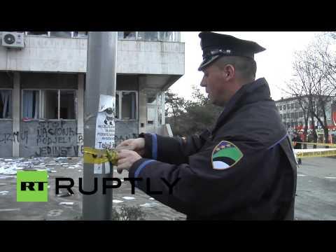 Bosnia and Herzegovina: Tuzla awakens to scenes of destruction