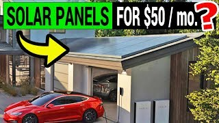 Tesla Blows Our Minds with $50/mo. Solar Panel Deal!