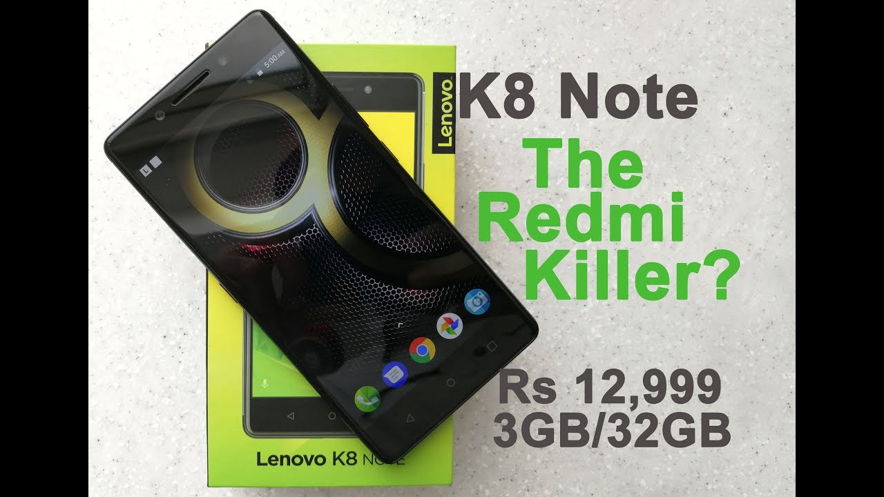 Lenovo K8 Note review: Two steps forward, one step back - Technology
