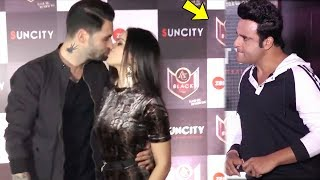 Sunny Leone And Her Husband Daniel KI$$ Front Of Media At Song Launch Lovely Accident