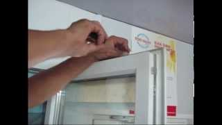 Установка приточного клапана на пластиковое окно(, 2014-07-23T15:35:04.000Z)