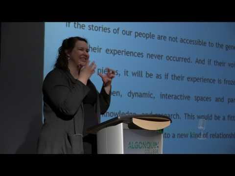 AC Speaker Series: Tricia Logan - Truth & Reconciliation Commission