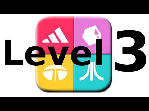 Logos Quiz Game - Level 3 - Walkthrough - All Answers