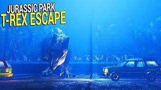 NEW FAVORITE GAME - ESCAPE THE T-REX SIMULATOR   Free T-Rex Breakout
