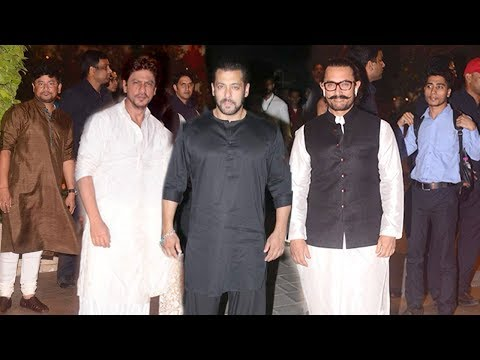 Salman,Shahrukh,Aamir,Amitabh,Rekha TOGETHER At Mukesh Ambani's Ganpati Party 2018 Mp3
