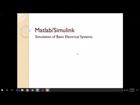 Matlab Simulink Tutorials for beginners- Sim Power Systems-Basics of Matlab  Simulink