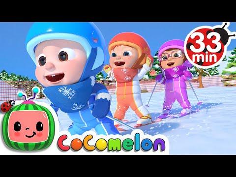 Ski Song + More Nursery Rhymes & Kids Songs - CoComelon