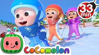 Ski Song + More Nursery Rhymes & Kids Songs - CoComelon