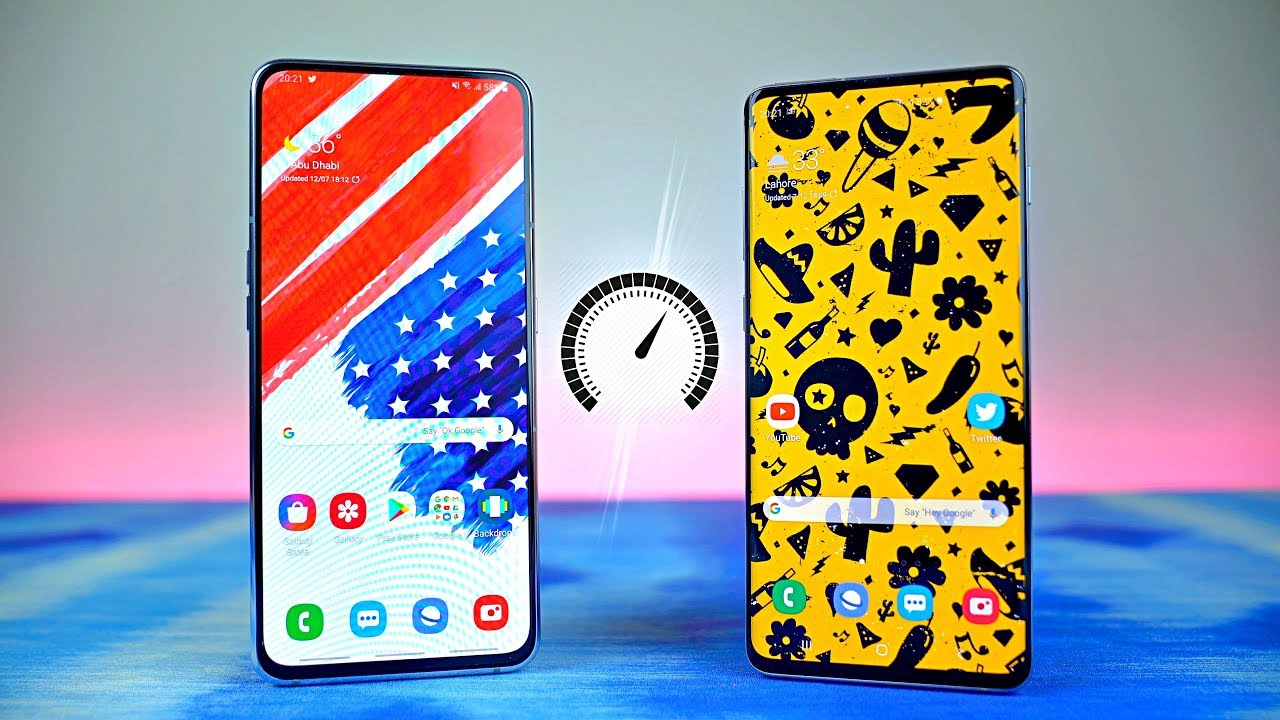Samsung Galaxy A80 vs Galaxy S10 Plus - Speed Test!