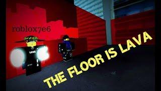 Roblox - Parkour I The Floor Is Lava (ft. roblox7e6)