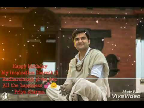 Indresh upadhyay ji_happy birthday