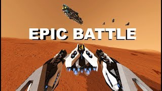 space engineers - Epic battle of Mars ( EP2 )