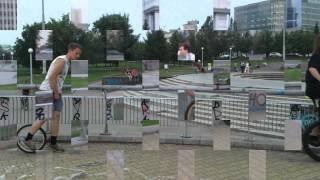 Обучение езде на уницикле. Екатеринбург